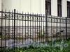Санаторная аллея, д. 4. Фрагмент ограды. Фото сентябрь 2010 г.