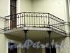Санаторная аллея, д. 4. Ограждение балкона. Фото сентябрь 2010 г.