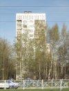 Придорожная аллея, дом 33. Общий вид жилого дома. Фото март 2012 года.