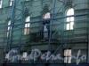 Конногвардейский бул., д. 5. Дом причта Исаакиевского собора. Реконструкция здания. Фото июль 2009 г.