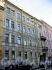 Конногвардейский бул., д. 13. Бывший доходный дом. Фасад здания. Фото июль 2009 г.