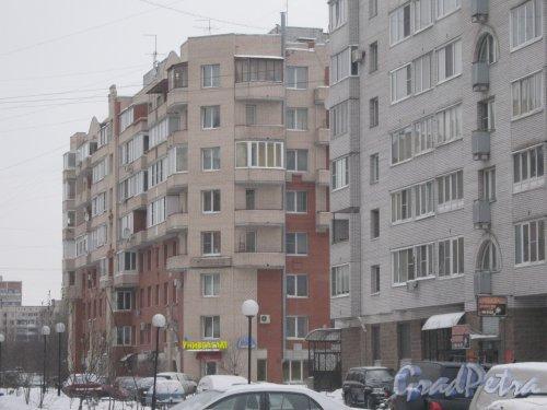 Сиреневый бульвар, дом 23, корпус 2. Общий вид здания с улицы Руднева. Фото 25 января 2013 г.
