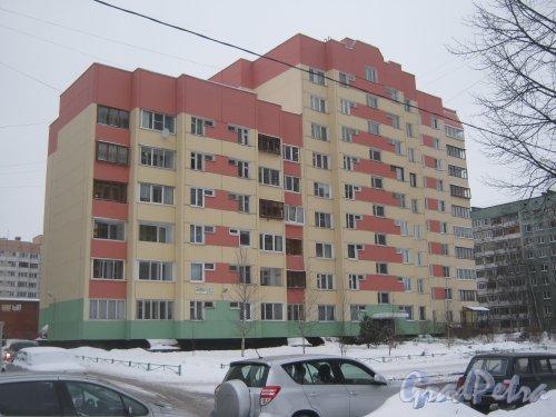 Сиреневый бульвар, дом 23, корпус 1. Общий вид с улицы Руднева. Фото 25 января 2013 г.
