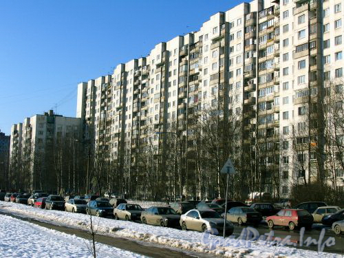 Сиреневый бульвар, д. 2 к. 1. Общий вид жилого дома. Март 2009 г.