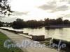 Река Малая Невка. Вид с Песочной набережной. Фото сентябрь 2010 г.