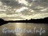 Река Малая Невка. Вид на Каменный остров от Каменноостровского моста. Фото сентябрь 2010 г.