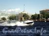 Скоростной катер в акватории Большой Невы. Фото июнь 2010 г.