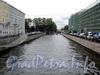 Крюков канал на участке от моста Декабристов в сторону Матвеева моста. Фото август 2011 г.