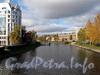 Рекаждановка на участке от 4-гождановского моста в сторону Мало-Петровского моста. Фото октябрь 2011 г.