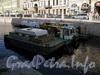 Работы по очистке канала Грибоедова. Фото июль 2009 г.