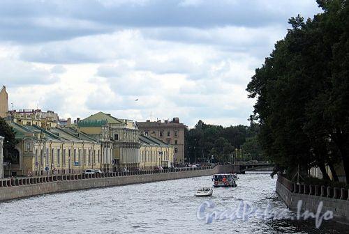 Река Фонтанка. Вид от Прачечного моста. Фото сентябрь 2010 г.