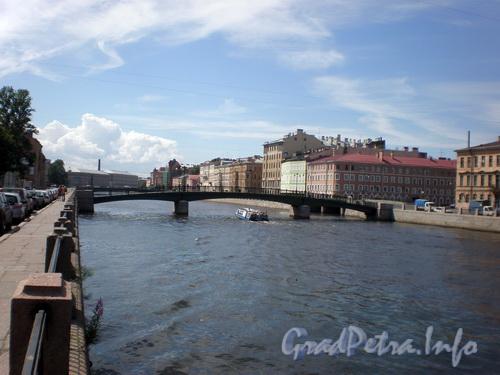 Вид на Красноармейский мост от набережной р. Фонтанки. Фото 2008 г.