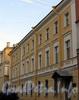 3-я линия В.О., д. 2, лит. Б.жилой дом Академии художеств. Студенческое общежитие. Фасад здания. Фото июль 2009 г.