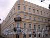17-я линия В.О., д. 4-6 (левая часть) / Финляндский пер., д. 1. Бывший доходный дом. Общий вид здания. Фото октябрь 2009 г.