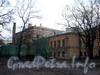 3-я линия В.О., д. 2, лит. А. Здание Мозаичного отделения Академии художеств. Вид из сада Академии художеств. Фото ноябрь 2009 г.
