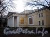 3-я линия В.О., д. 2. Здание «Рисовальных классов» (Садовый корпус). Общий вид после реставрации. Фото ноябрь 2009 г.