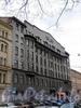 3-я линия В.О., д. 46. Доходный дом Е. В. Винберг. Общий вид здания. Фото май 2010 г.