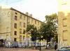 7-я линия В.О., д. 6. Правый дворовый флигель. Вид из Днепровского переулка. Фото август 2010 г.