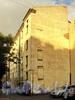 7-я линия В.О., д. 6. Левый дворовый флигель. Вид из Днепровского переулка. Фото август 2010 г.