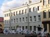 6-я линия В.О., д. 7. Фасад углового дома по 6-й линии. Фото август 2010 г.
