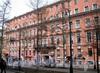 6-я линия В.О., д. 25. Фасад здания. Фото апрель 2011 г.