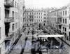 6-я линия В.О., д. 37. Общий вид двора дома. Фотоателье К. К. Буллы, 1913 г. (из архива ЦГАКФФД)