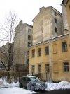 11-я линия В.О., дом 28, лит. Б. Фрагмент фасада. Фото 3 февраля 2013 г.