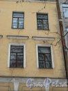 11-я линия В.О., дом 24. Трещины на фасаде лицевого корпуса, появившиеся после начала строительства соседнего дома №26. Фото 3 февраля 2013 г.