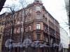 14-я линия В.О., д. 3. Фасады здания по 14-ой линии В.О. и Иностранному пер. Март 2009 г.