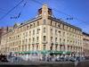 8-я линия В.О., д. 73/Малый пр., В.О., д. 23. Бывший доходный дом. Общий вид здания. Апрель 2009 г.