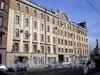 8-я линия В.О., д. 73/ Малый пр., В.О., д. 23. Бывший доходный дом. Фасад здания по 8-ой линии В.О. Апрель 2009 г.