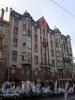 9-я линия В.О., д. 58. Дом Ф.В. Шеффера. Фасад здания. Апрель 2009 г.