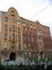 13-я линия В.О., д. 16.  Доходный дом С. С. Лентца. Фасад здания. Фото август 2009 г.