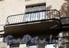 14-я линия В.О., д. 11 / Большой пр., В.О., д. 38. Доходный дом Ю.К.Додоновой. Балкон. Фото август 2009 г.