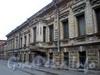 Кожевенная линия, д. 27. Особняк Брусницыных. Фасад здания. Фото октябрь 2009 г.