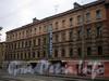 Косая линия, д. 13. Бывший доходный дом. Службы Балтийского завода. Фасад здания. Фото октябрь 2009 г.