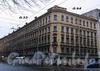 11-я линия В.О., д. 64 / Малый пр., В.О., д. 33. Бывший доходный дом. Общий вид здания. Фото октябрь 2009 г.