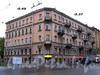 12-я линия В.О., д. 49 / Малый пр., В.О., д. 37. Бывший доходный дом. Общий вид здания. Фото октябрь 2009 г.