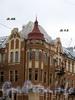 16-я линия В.О., д. 13 / Большой пр., В.О., д. 46. Доходный дом Б. Б. Глазова. Фрагмент угловой части здания. Фото октябрь 2009 г.