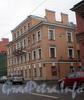 8-я линия В.О., д. 3 / Академический пер., д. 9. Дом А. А. Грекова (Кенигов). Общий вид здания. Фото октябрь 2008 г.