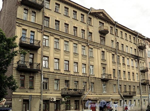 6-я линия В.О., д. 43. Фасад здания. Фото июнь 2010 г.