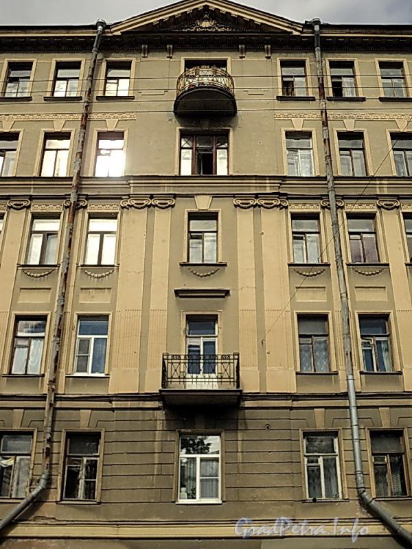 6-я линия В.О., д. 43. Фрагмент фасада. Фото июнь 2010 г.