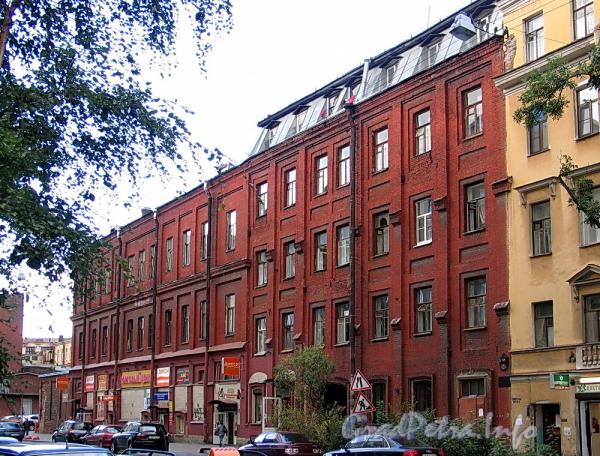 6-я линия В.О., д. 55. Фасад здания. Фото август 2010 г.
