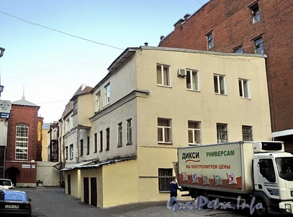 6-я линия В.О., д. 55 (дворовый корпус). Общий вид. Фото август 2010 г.