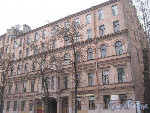 6-я линия В.О., дом 39. Общий вид с 7-й линии В.О. Фото 12 февраля 2013 г.