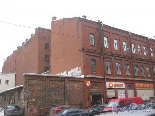 6-я линия В.О., дом 55. Общий вид с 7-й линии В.О. Фото 12 февраля 2013 г.