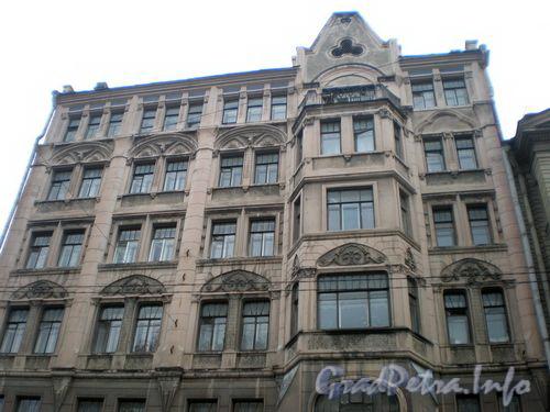 9-я линия В.О., д. 30. Общий вид здания. Октябрь 2008 г.