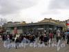 Станция метро «Василеостровская». Наземный вестибюль. Фото 2003 г.