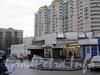 Здание наземного вестибюля станции метро «Гражданский проспект». Фото ноябрь 2009 г.