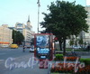 Московский проспект у наземного павильона станции метро «Фрунзенская». Фото 2010 г.